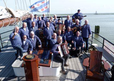 Shanty-Chor Lahnstein auf dem Ijsselmeer 2018
